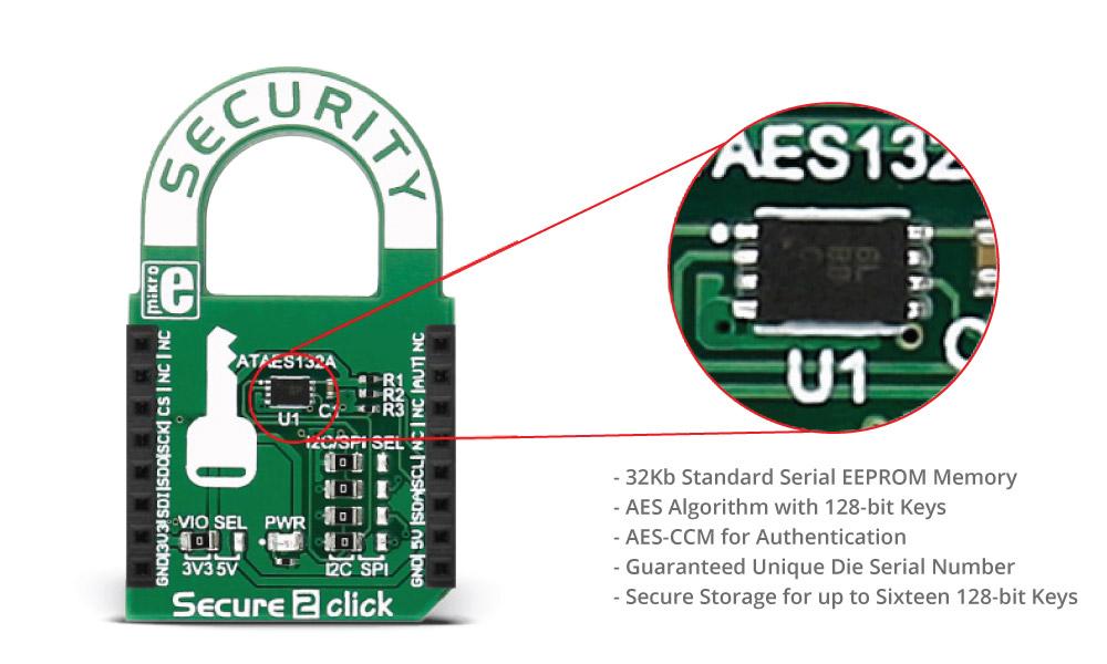 Module Secure 2 Click