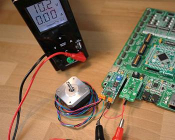 Exemple d'utilisation du module PAC1921 Click