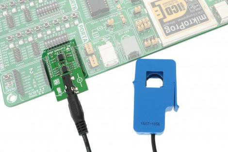 Module AC current click board MIKRO-2523