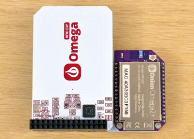 Exemple d'utilisation du module RFID NFC expansion pour Omega2 Onion