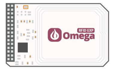 Détail de la platine RFID NFC expansion pour Omega2 Onion