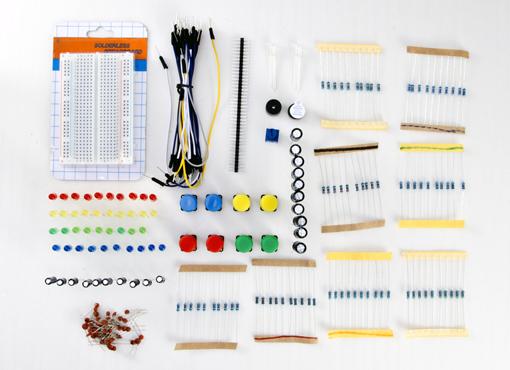Détail du starter kit primo pour Arduino