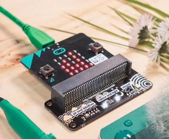 Détail du module Pimoroni enviro:bit micro:bit PIM355