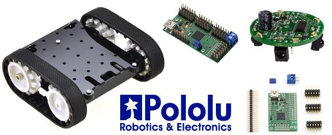 Pololu Fabricant de modules et accessoires pour robotique