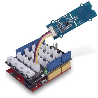 Exemple d'utilisation du capteur Grove inductif à 2 canaux 101020599