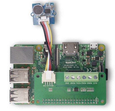 Exemple d'application du module ADC 4 canaux pour Raspberry Pi 103030279