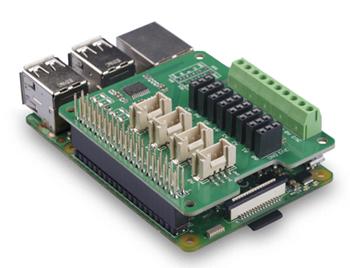 Exemple d'application du module ADC 8 canaux pour Raspberry Pi 103030280