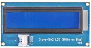 Module Grove Afficheur LCD 2x16 (blanc sur bleu)