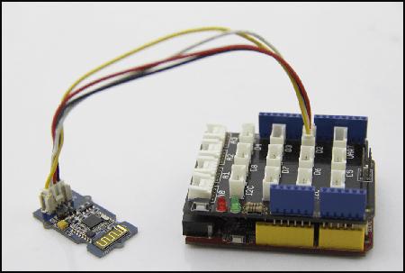 Exemple d'utilisation du module Grove - BLE