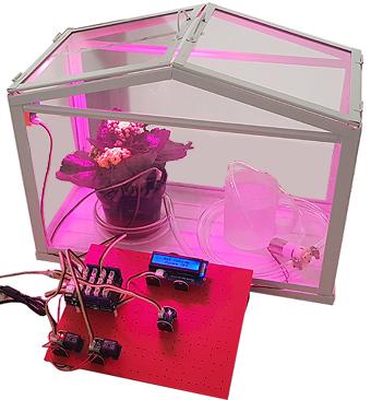 Mise en oeuvre du starter-kit de la mini serre automatisée