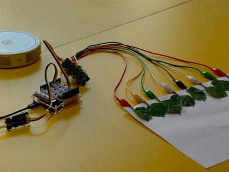 Application avec le Module Grove capteur capacitif 12 entrée 101020534