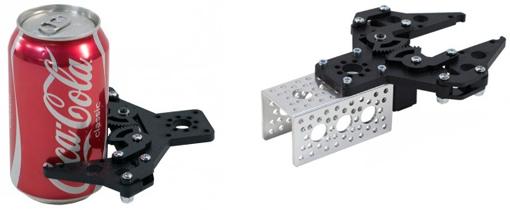 Exemple de mise en oeuvre de la pince robotique Parallel Gripper Kit A