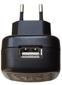 Détail de la sortie sur prise USB de l'alimentation pour arduino